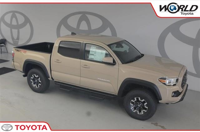 New 2020 Toyota Tacoma 4WD TRD Off Road Double Cab 5' Bed V6 MT (Natl)